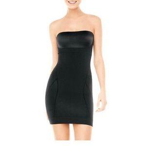 Spanx Slimmer & Shine Strapless Shapewear Dress